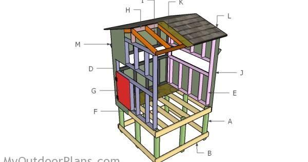 Building An Elevated Deer Blind Outdoor Plans