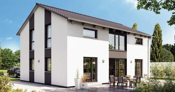 variant 25 183 einfamilienhaus von hanse haus gmbh. Black Bedroom Furniture Sets. Home Design Ideas