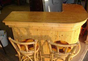 Craigslist Scavenger Mid Century Tiki Bar Stools For 800