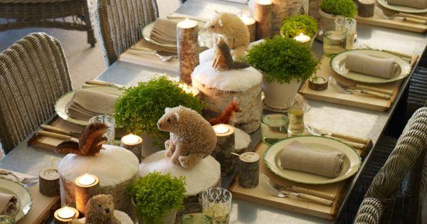 Déco table de Noël en 27 idées magiques faciles à imiter  Tables ...