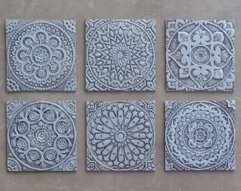 Bathroom Wall Art With Moroccan Design Ceramic Tile Bathroom Decor Bathroom Art Tile Moroccan Decor Moroccan 1 Silver Ceramic Wall Decor Tile Wall Art Outdoor Wall Art
