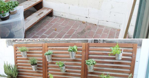 Quick And Easy Patio Garden For 150 Using Ikea Applaro
