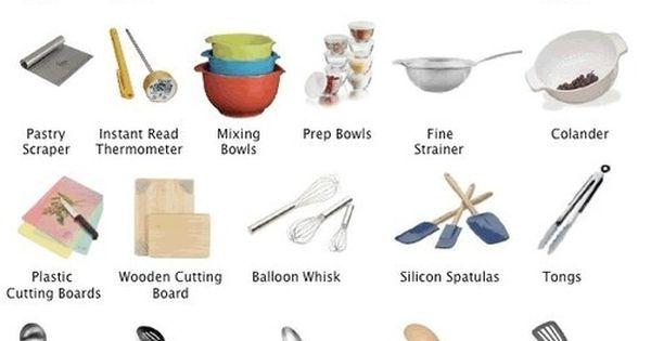 Kitchen utensils equipment learning english les ustensiles de cuisine anglais et de cuisine - Ustensile de cuisine anglais ...