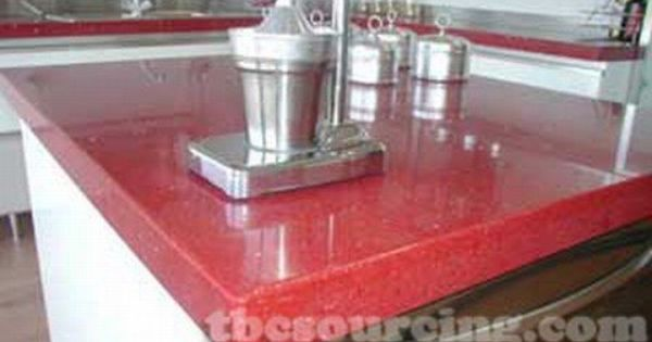 Red Tile For Kitchen Countertops Red Quartz Countertops Buy Red
