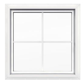 Jeld Wen 24 In X 24 In V4500 Double Pane Double Strength Square New Construction Window Window Construction Jeld Wen Windows Exterior