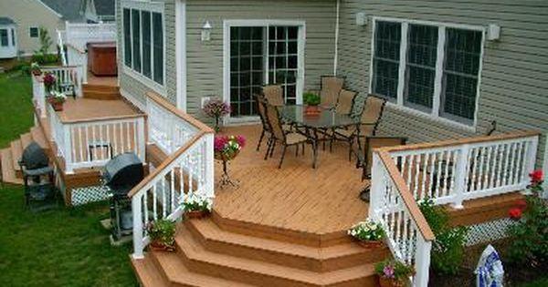 Outdoor Living Contractors Decks Patios Sunrooms Porches Patio Deck Designs Backyard Decks Backyard