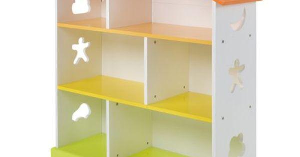 Biblioth que enfant en forme de maison domi enfant - Bibliotheque en forme de maison ...