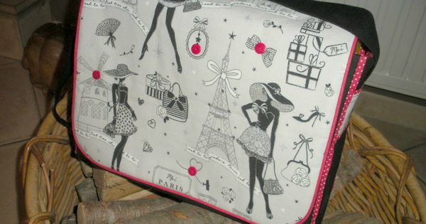 sac besace avec tuto francais couture pinterest couture sac couture sewing and patchwork. Black Bedroom Furniture Sets. Home Design Ideas