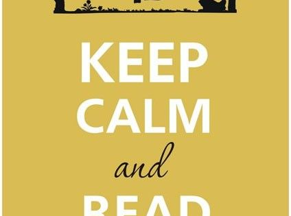 Keep Calm and Read A Book♕ KeepCalm Quote Quotes