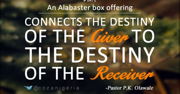 Alabaster Box Offering 12dg 2014 Pinterest