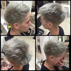 Sidecut haare sehr kurze Undercut frisuren