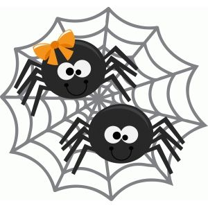 Halloween Spider Clipart.Pin On Silhouettes