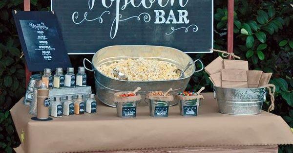 Ideas para montar un popcorn bar bar ideas para y ideas - Ideas para montar un bar ...