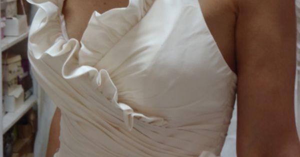 Robe de mariée création Max Chaoul doccasion à Paris  plus size ...