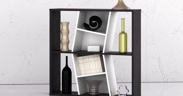 Bucherregal Buroregal Regal Wohnregal Boa Schwarz Weiss Ebay Shelves Decor Wall Shelves