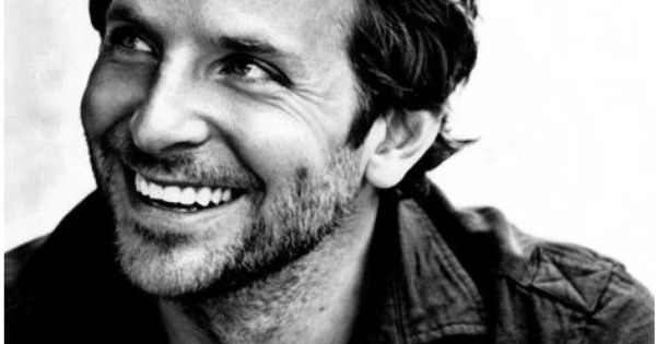 Bradley Cooper - my celebrity crush. Ah! Just look at that smile!