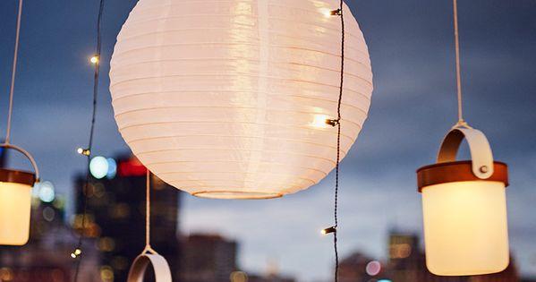 ... taklampa. SKRUV LED ljusslinga med 48 ljus. Stylist: Hans Blomquist