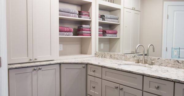 Dayton Painted Linen Mission Bath Vanity Cabinets From Bathroom Vanity