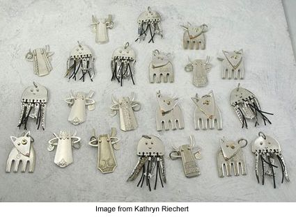 How To Make Spoon And Fork Jewelry Tutorials The Beading