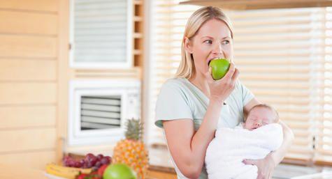 Alimentacao Para Quem Amamenta Com Imagens Dieta Para Quem
