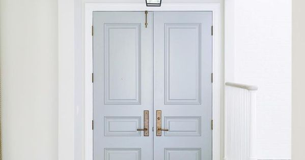 Door Color Is Cape May Cobblestone By Benjamin Moore