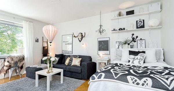 Studio tudiant 12 id es d co pour petit appartement for Idee deco studio 30m2