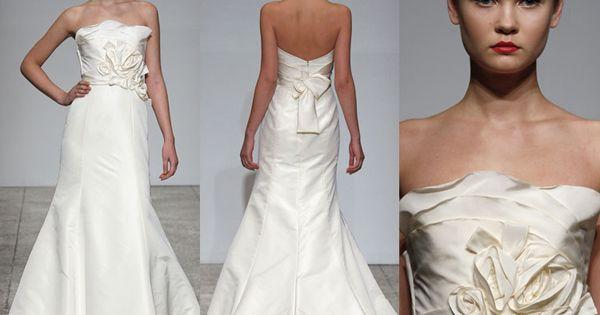 Amsale Taryn Bridal Gown Julian Gold Bridal San