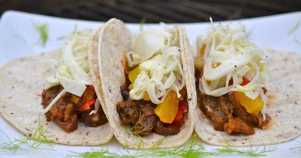 BBQ Aubergine Tacos