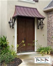 The Juliet Gallery Copper Awnings Projects Gallery Of Awnings Outdoor Awnings Exterior Front Doors Awning Over Door