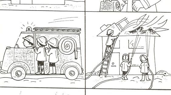 logische volgorde 112 pinterest bildergeschichten feuerwehr und vorschule. Black Bedroom Furniture Sets. Home Design Ideas