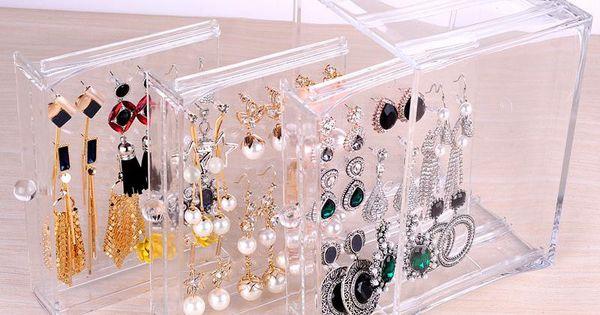25 Beautiful Acrylic Jewelry Holders Zen Merchandiser Jewelry Display Box Acrylic Storage Box Acrylic Jewellery