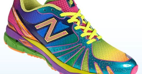 2012 New Balance Shoes in Rainbow Color.
