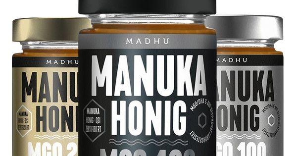 Madhu Manuka Honig Mgo 400 Manuka Honig Honig Gesund Leben