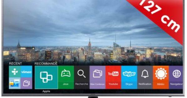 samsung 50ju6800 127cm uhd 4k smart tv pas cher prix promo. Black Bedroom Furniture Sets. Home Design Ideas