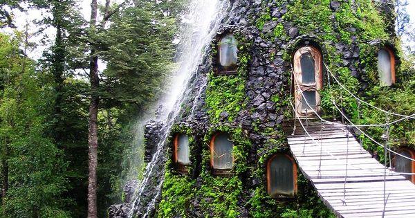 Hotel la Montana Magica- Huilo Huilo, Chile