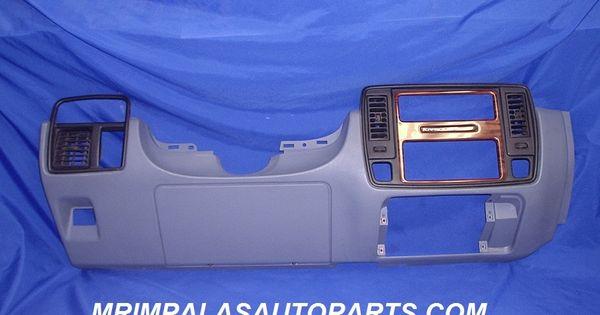 94 96 Chevy Caprice Lower Dash Bezel Blue 94 95 96 Impala Ss