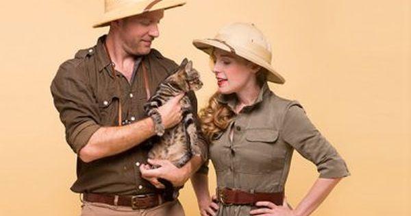 Karl Lagerfeld Kostüm selber machen     Safari