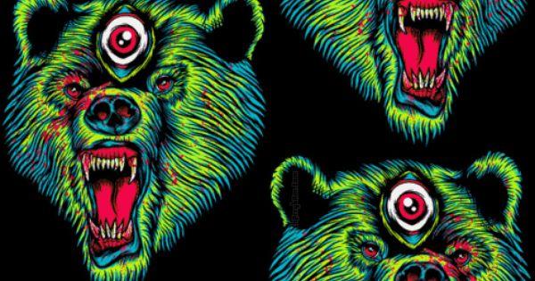 Trippy Live Wallpaper Explosive Cool Art Phreek Weird Stuff