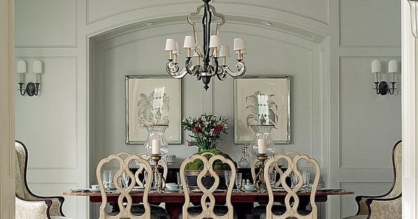 Formal dining room thompson custom homes home decor for Formal dining wall decor
