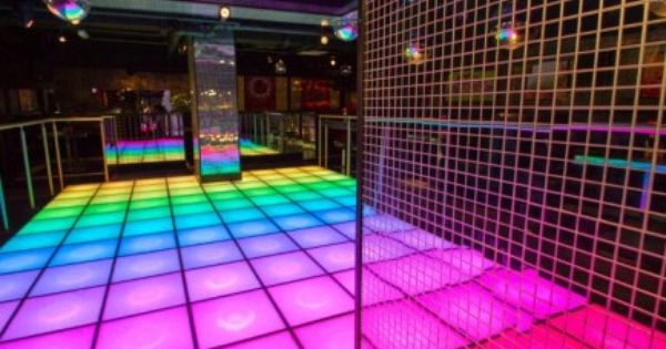Led Retro Dance Floor At Tiger Tiger London Groovy Disco Disco Party Disco Fun Party Themes