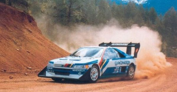 405t16 Pikes Peak Peugeot Rally Car