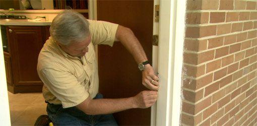 How To Replace Worn Weatherstripping Around Doors Door Weather