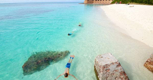 ... Dry Tortugas - Key West Florida ..... Snorkeling