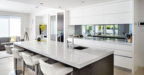 Perth Contemporary Kitchen Designers Cabinet Makers Interior Design Kitchen Modern Kitchen Design Kitchen Design Ideas Dark Cabinets