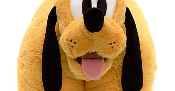Pluto Pillow Pal | Cushions | Disney Store | pillow pets ...