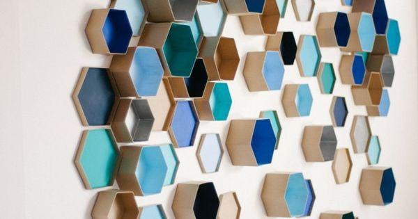 Le motif hexagone en décoration d'intérieur – 20 idées super ...