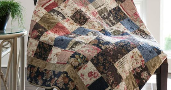Charm Pack Quilt By Jenny Doan Featuring Fabrics From True