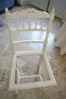 Patine Blanche Photos Et Technique Relooking De Chaise Mobilier De Salon Chaise Art Deco
