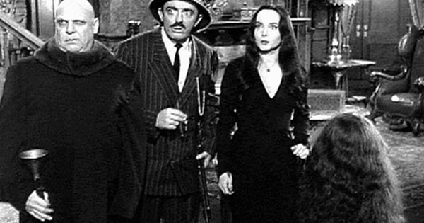 The Addams Family Tv Show Pinterest Tv Series Gomez Morticia