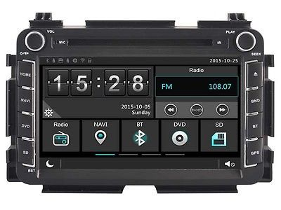 255 00 8 Quot Car Dvd Player Gps Radio Stereo For Honda Vezel 2013 2017 Navi 2din Features Auxiliary Input Screen S Car Dvd Players Dvd Car Navigation